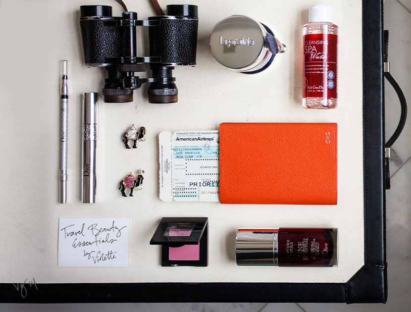 Travel beauty essentials archive